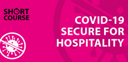 COVID-19 course for hospitality