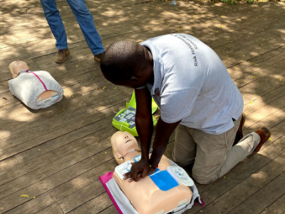 QNUK LEVEL 3 AWARD Emergency first aid at work course with catastrophic bleeding